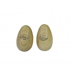 Dimavery Egg-Shaker, wood /pair