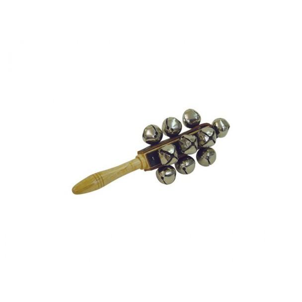 Dimavery Sleigh bells on stick 13 bells