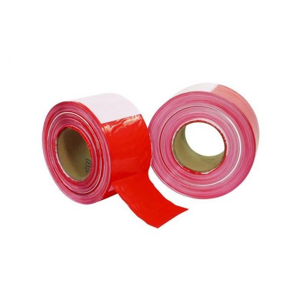 Eurolite PP barrier tape red/white