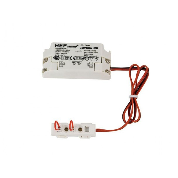 Artecta LED constant current driver 350mA/1-8W
