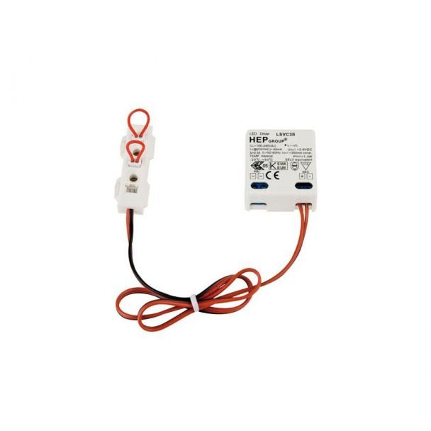 Artecta LED constant current driver DC 700mA/1x3W