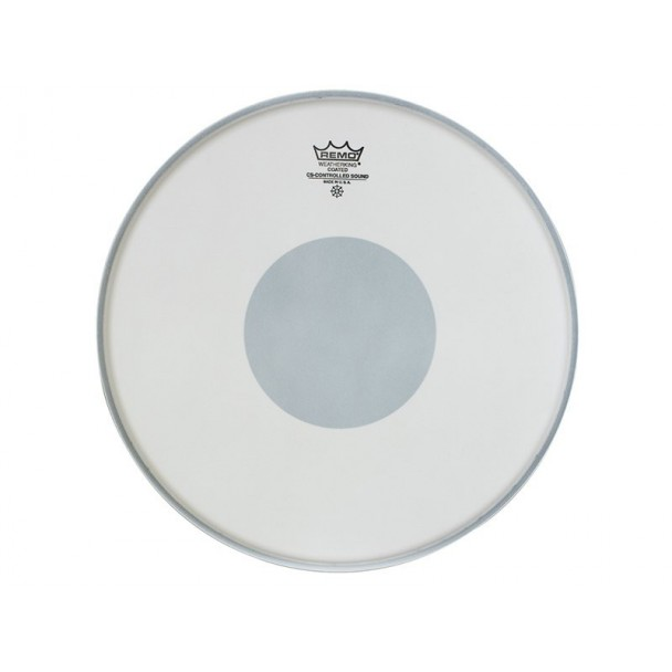 """Remo Controlled Sound Clear Dot 14"""" Batter Coated"""