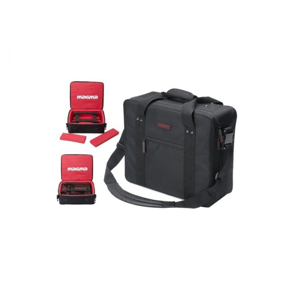 Magma Digi CDJ/Mixer-Bag, black/red