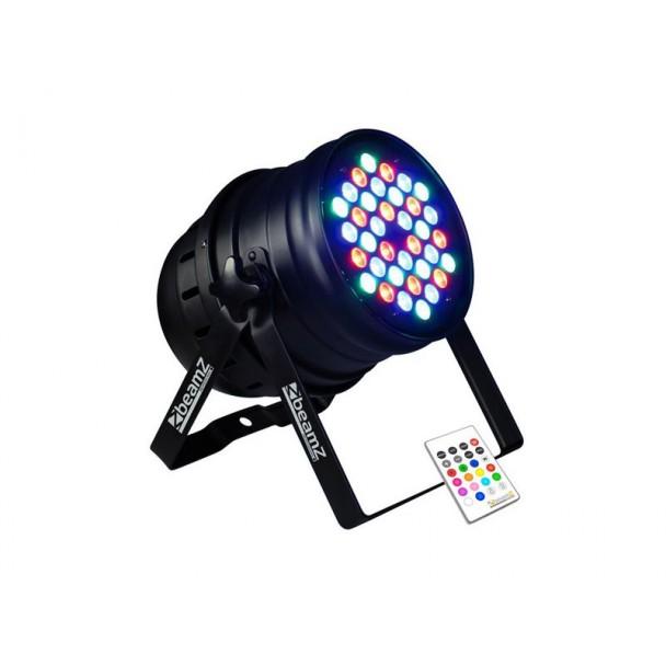 Beamz PAR 64 Can 36 x 3W RGBW LEDs IR DMX