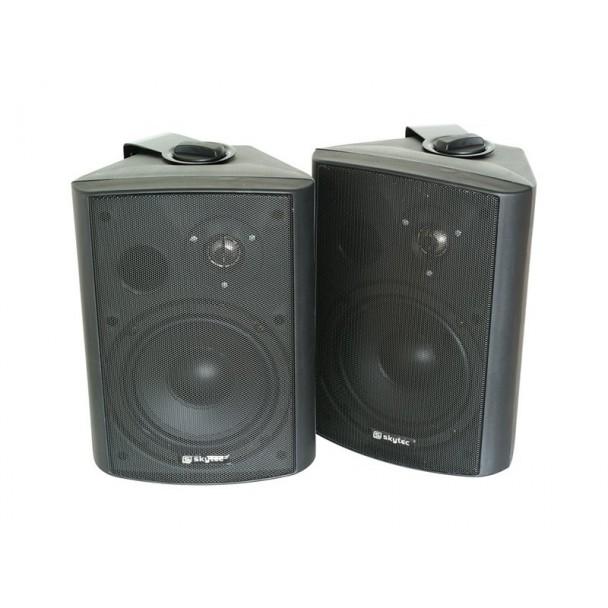 SkyTec 2-way loudspeaker set 120W