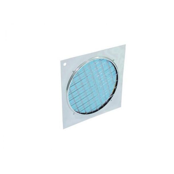 Eurolite Blue dichroic filter silver frame PAR-64