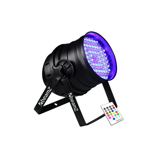 Beamz PAR 64 Can 176 x 10mm RGB LEDs IR DMX