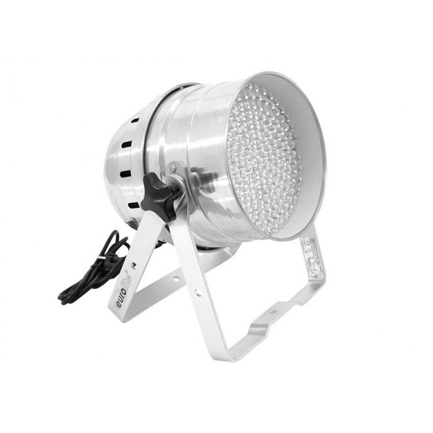 Eurolite LED PAR-64 RGB 10mm Floor Sil