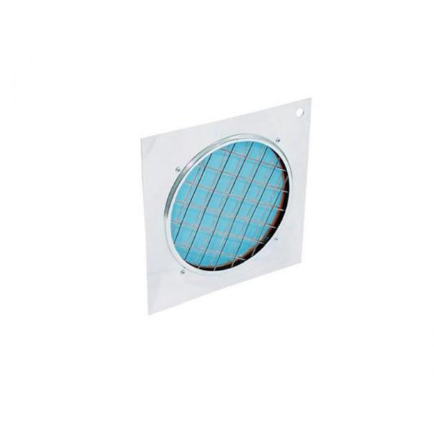 Eurolite Blue dichroic filter silver frame PAR-56