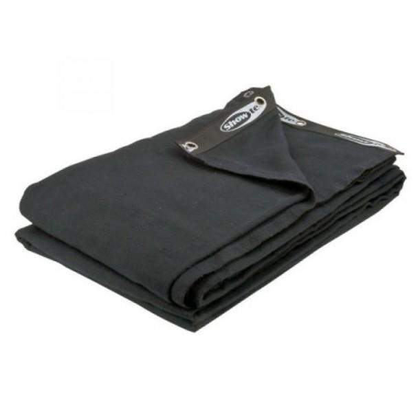 Showtec Backdrop Black 3m x 3.5m