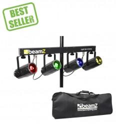 Beamz 4x 57 RGBW LEDs DMX