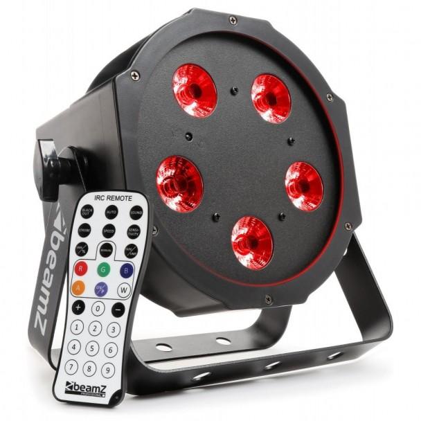 Beamz BFP 120 FlatPar 5 x 8W 4 in 1 LED