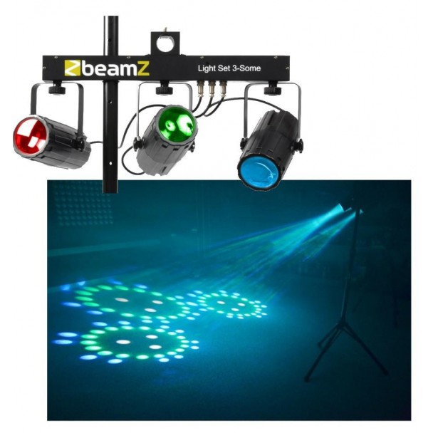 Beamz 3x 57 RGBW LEDs