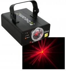 Beamz Rhea Laser Effect Red DMX