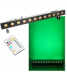Beamz LCB216 Color Unit 12x 18W RGBWA - UV HEX LEDs