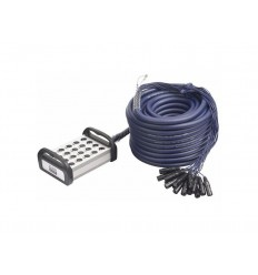 DAP Audio XLR Multisnake 16 in 4 out