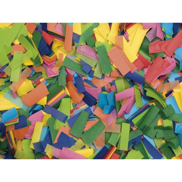 Showtec Show Confetti Rectangle 55 x 17mm