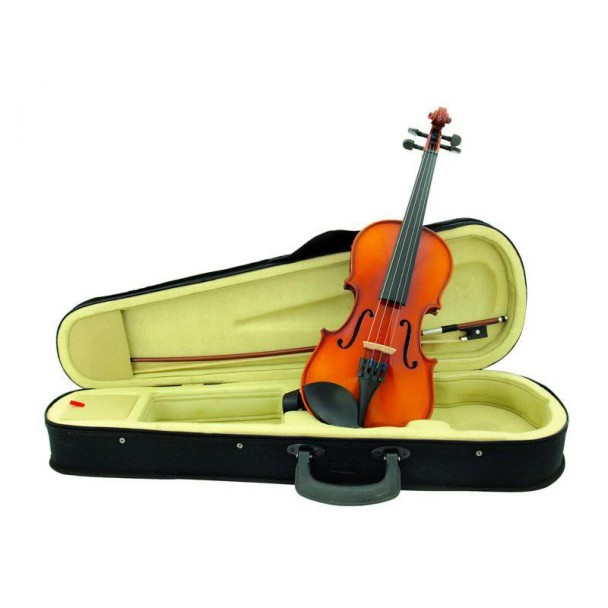 Dimavery Violin 1/2 with bow in case
