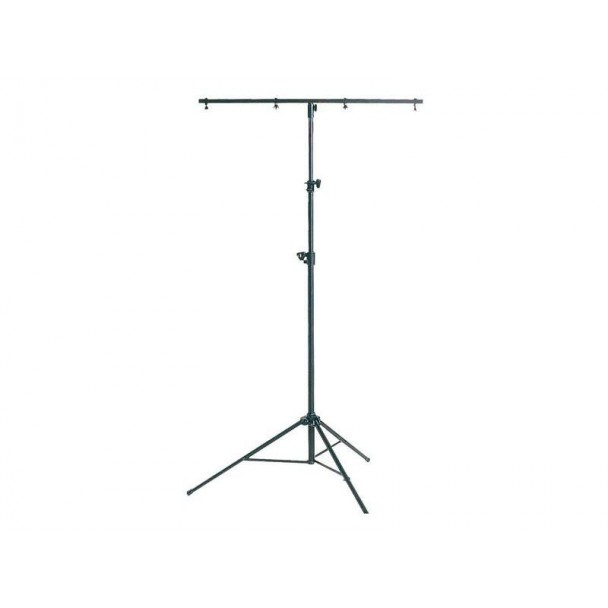 Showtec Metal stand black with T-bar