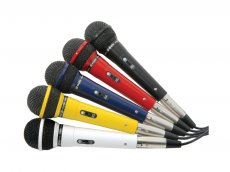 Set microfoane karaoke - SkyTec - Microphone dynamic XLR lead