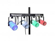 Set de lumini - Beamz - Clear 4x 57 RGBW LEDs DMX