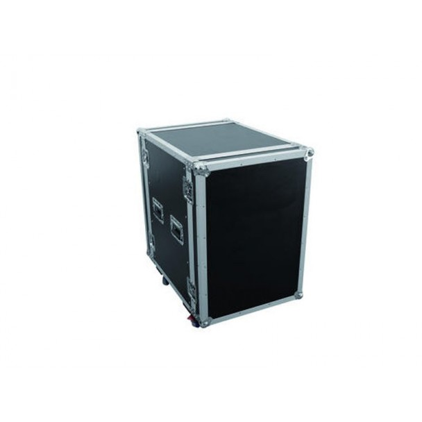 Omnitronic Amplifier rack PR-2ST, 20U castors