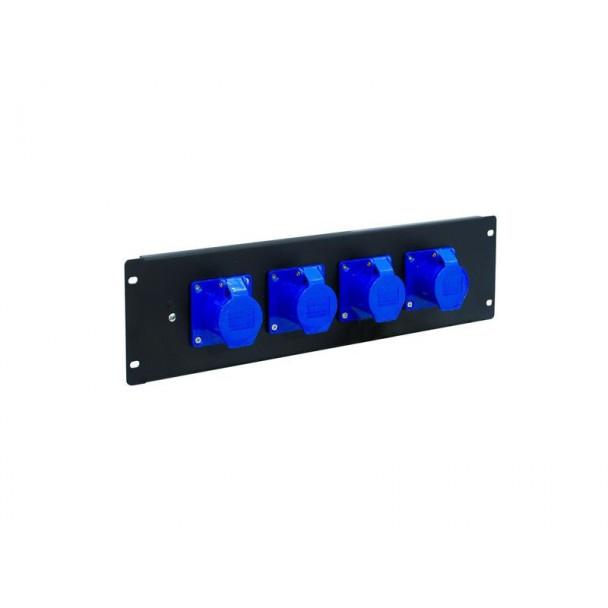 Eurolite PDM 3U-4CEE 16A/3 pins