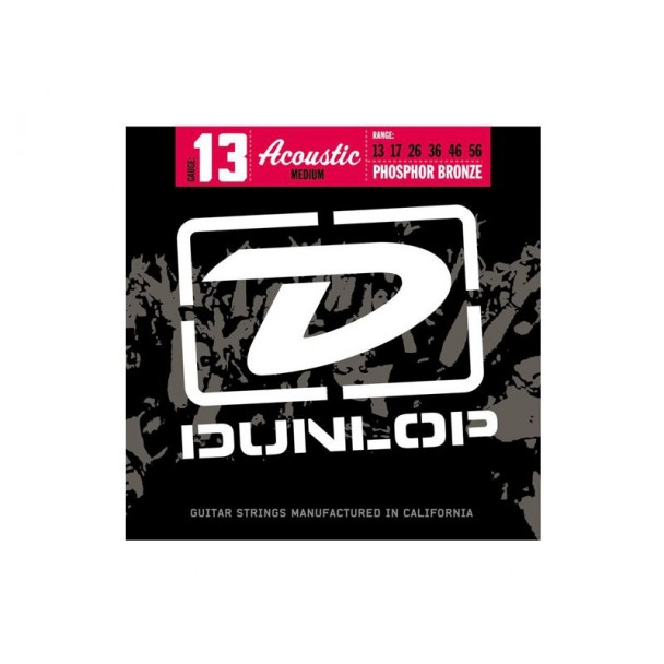 Dunlop 13 Phosphor Bronze Medium DAP2016