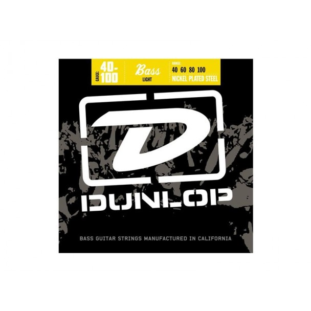 Dunlop Nickel Plated Steel Light DBN1064