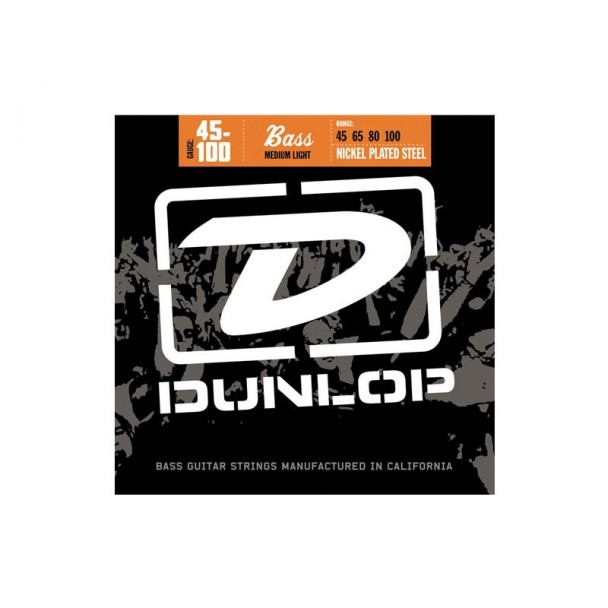 Dunlop Nickel Plated Steel Medium Light DBN1504