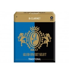 Rico Grand Concert Select Traditional Bb Clarinet 3.0