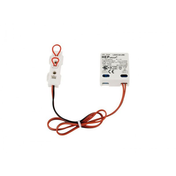 Artecta LED constant current driver DC 350mA/1x3W