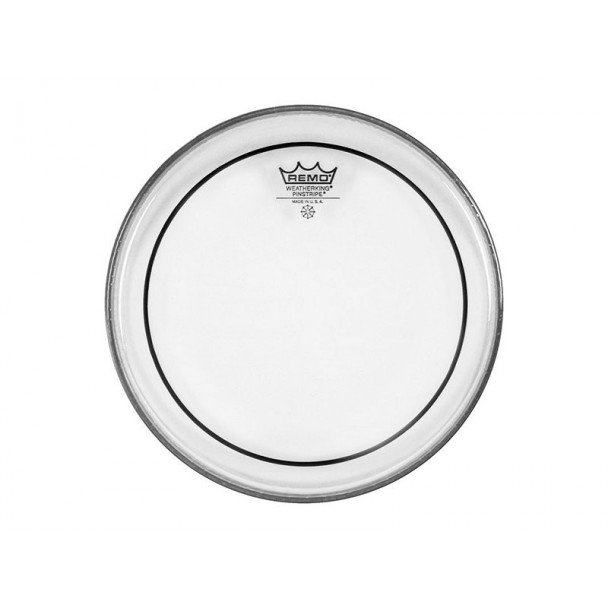 """Remo Pinstripe 8"""" Batter Clear"""
