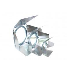 Eurolite EUROLITE Barndoors PAR-20 Spot silver