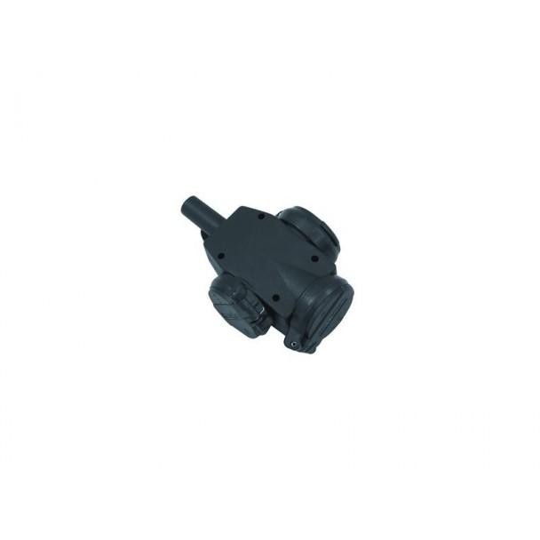 Eurolite Distributor, 3-way rubber, IP44