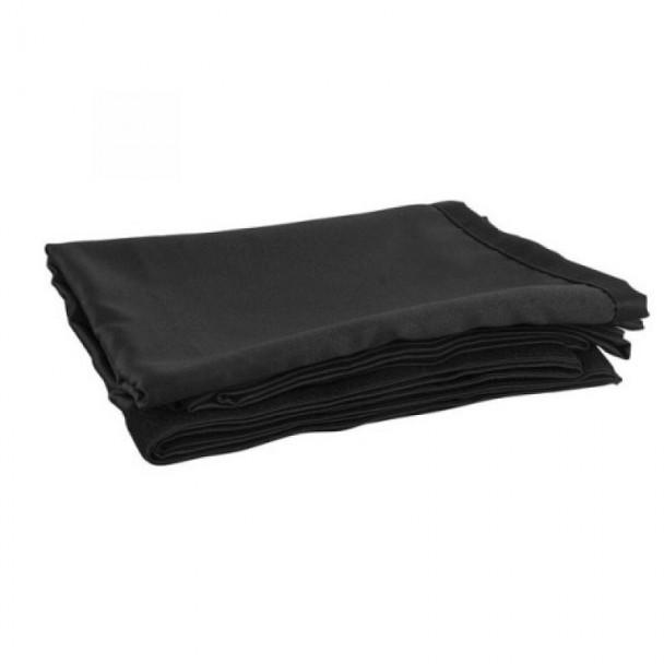 Showtec P&D Curtain 2.8 x 1.2 m Black