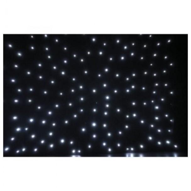 Showtec Stardrape White LED 2x3m