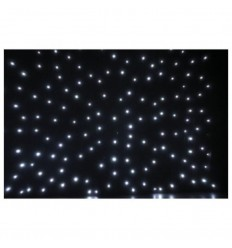 Showtec Stardrape White LED 3x6m