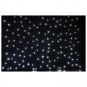 Showtec Stardrape White LED 3x6m