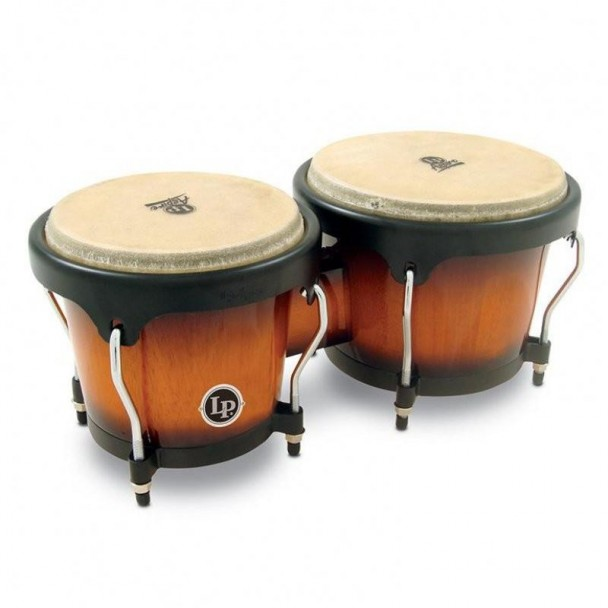 Latin Percussion Aspire Wood Bongos