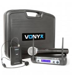 Vonyx WM512C 2 Canale VHF