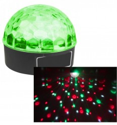 Beamz Max Magic Jelly DJ Ball 6x 1W LED