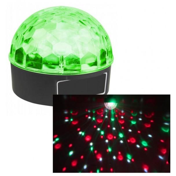 Beamz Max Magic Jelly DJ Ball 6x 1W LED