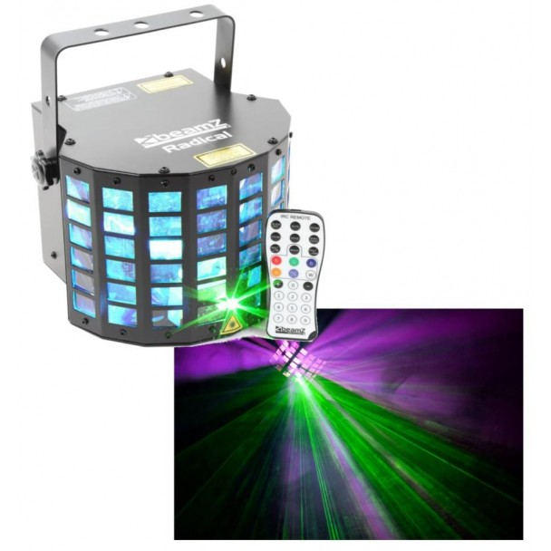 Beamz Radical LED Derby laser