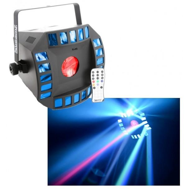 Beamz Cube4 2x 10W Quad LED