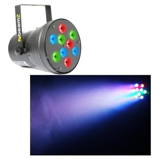 Beamz Par 36 Spot 9 x 1W RGB LEDs