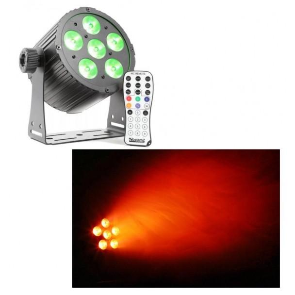 Beamz BAC406 6 x 18W RGBWA-UV LED-uri