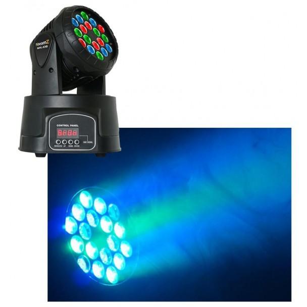 Beamz MHL-108 18 x 3W RGB