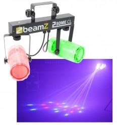 Beamz 2x 57 RGBW LEDs Clear