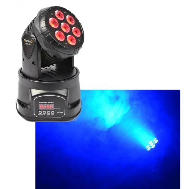 Beamz MHL-74 7 x 10W RGB